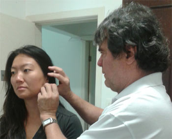 Foto ilustrativa de tratamento por acunputura