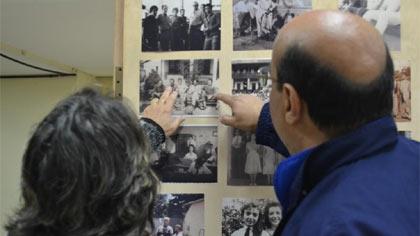 Fotos da exposição de fotos antigas em Barão de Cocais