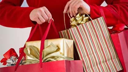 Foto ilustrativa de compras de presentes