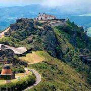 Foto de vista aérea do Santuário