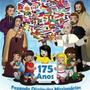 Imagem do cartaz de diulgação 6ª Jornada Nacional da Infância e Adolescência Missionária