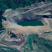 Foto da barragem de Gongo Soco