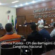 Foto da audiência\ pública na Câmara