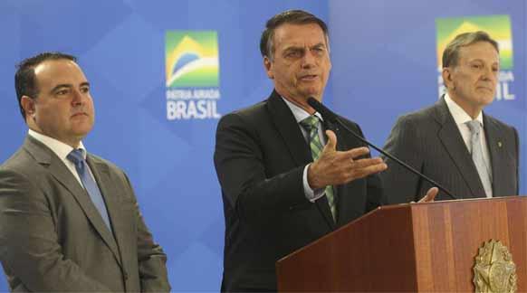 Foto do presidente Jair Bolsonaro