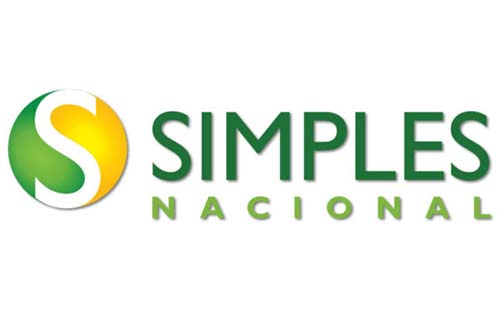 Imagem ilustrativa com logo do simples