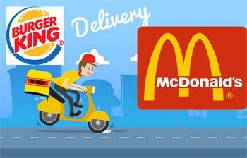 Imagem ilustrativa Burger King Delivery
