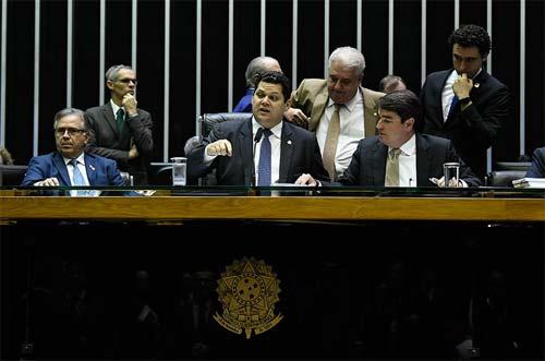 Foto da Mesa do Senado