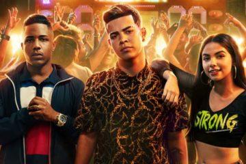 Foto dos protagonistas da série