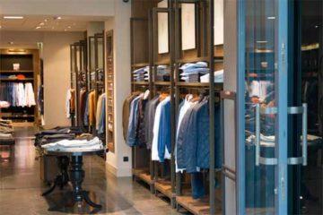 Foto ilustrativa, loja de roupas