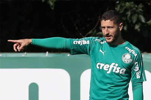 Foto de treino do Palmeiras