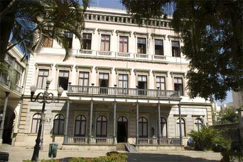 Foto do prédio do Museu da República