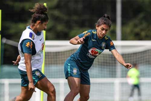 Foto de Treino Seleção Brasileira Feminina