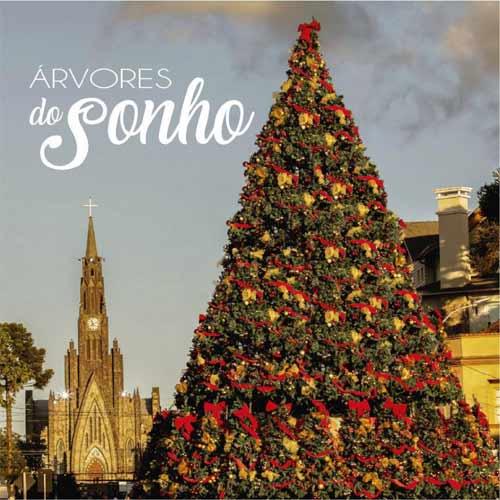 Foto decorativa, árvore de Natal