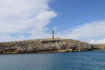 Foto do Arquipélago de Abrolhos