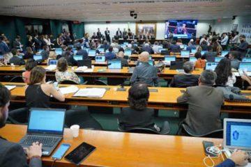 Foto de reunião da CCJ